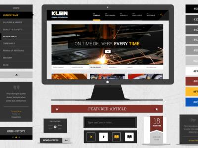 Klein Steel UI Kit
