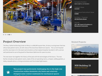 Project Detail Page