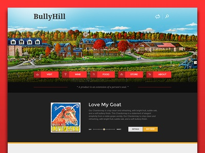 Bully Hill Homepage