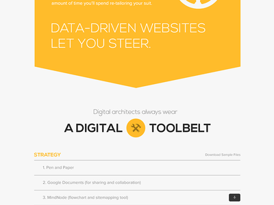 Expertise Page