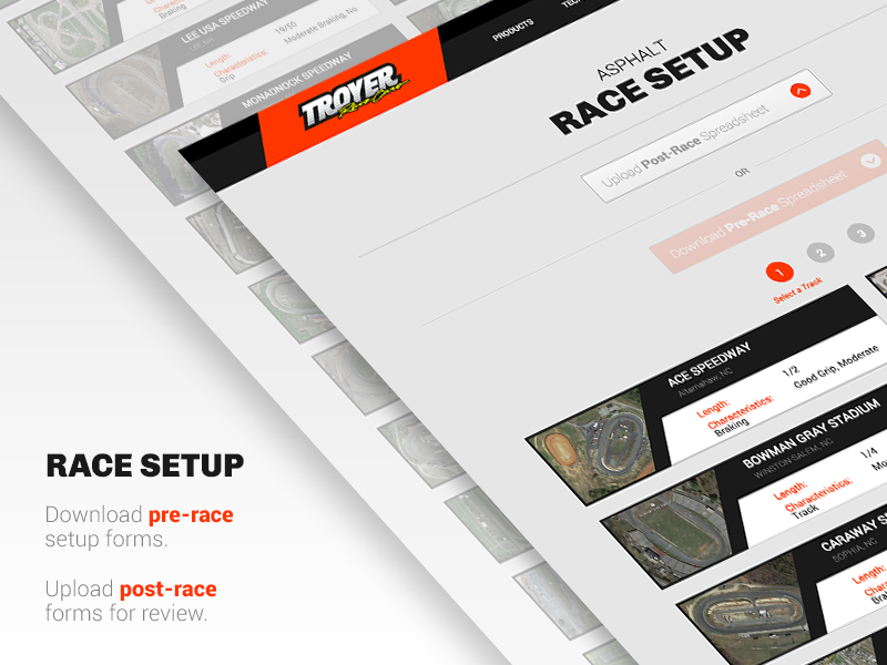 Troyer Race Setup By Dwaiter Dribbble