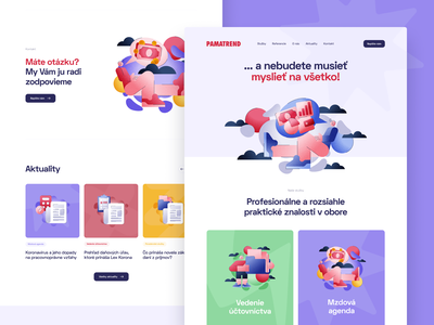 PAMATREND — Homepage web apps dashboard branding website web app flat illustration product design web design uidesign uxdesign finance saas b2c ux ui responsive cms visual identity user experience