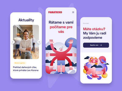 PAMATREND — Mobile accounting user experience visual identity cms responsive ui ux b2c saas finance ux design ui design web design product design illustration flat website branding dashboard web app