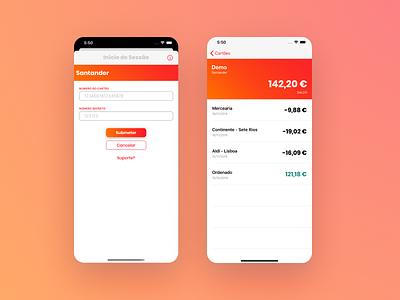 IOS App Screens product iphone creative yellow orange sunrise clean minimal app ios ux ui
