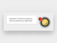 Chatbot PopUp Message