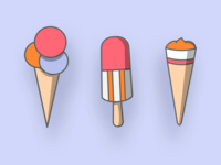 IconSeries #2 – Ice Cream Variants