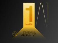 Dribbble Invite #1