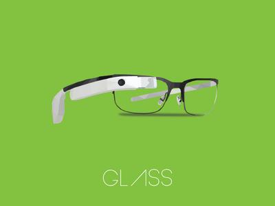 Google Glass google glass low poly artwork wearables
