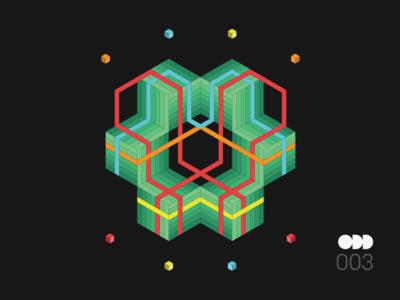ODD | 003 shapes art artwork geometric random odd