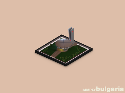 buzludja // SIMPLYbulgaria wallpaper design 3d artist 3d art 3d minimalistic minimalism minimalist minimal artist art artwork design art design designer flat designs flatdesign flat design wallpapers wallpaper