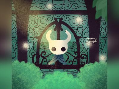 Hollow knight videogame design hollow knight games game art cute illustration digital 2d digital 2d art 2d