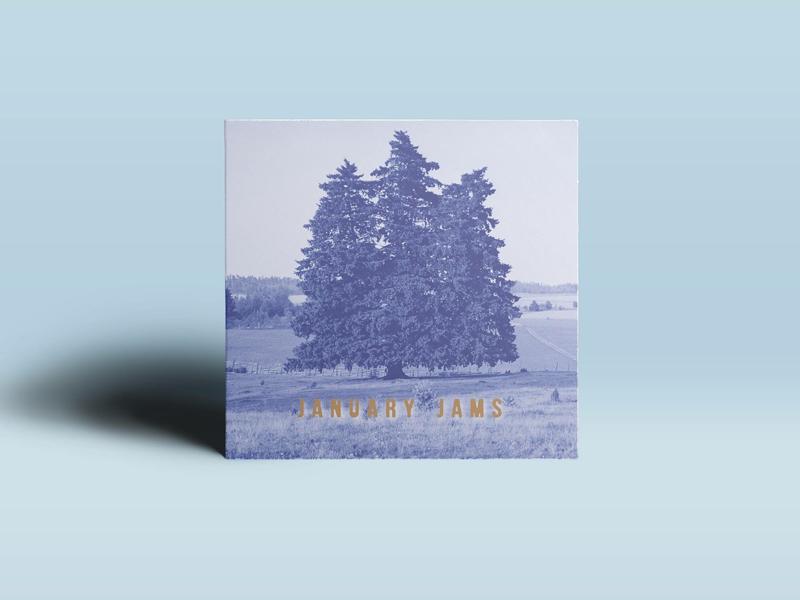 January Jams album cover mixtape