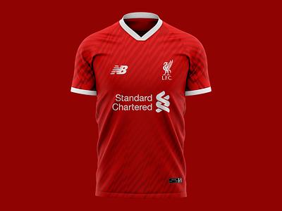 2019 Liverpool Football Club Jersey Concept I design 2019 concept soccer jersey football liverpool