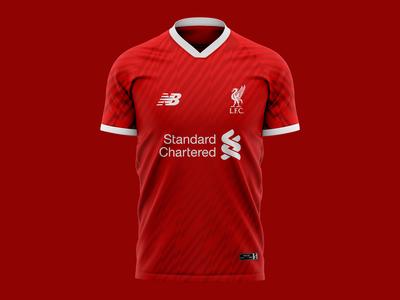 2019 Liverpool Football Club Jersey Concept I