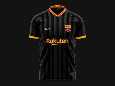 2019 Futbol Club Barcelona Jersey Concept I