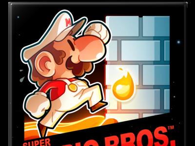 Super Mario Bros. 1 character design mario gaming game videogame fanart smb1 nintendo nes
