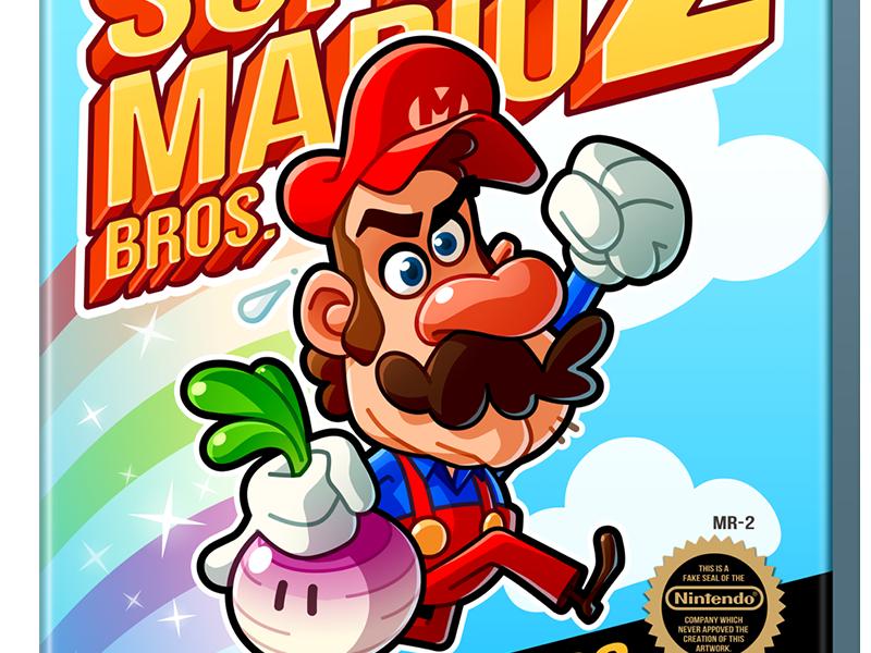 Super Mario Bros  2 by Mathieu Beaulieu on Dribbble