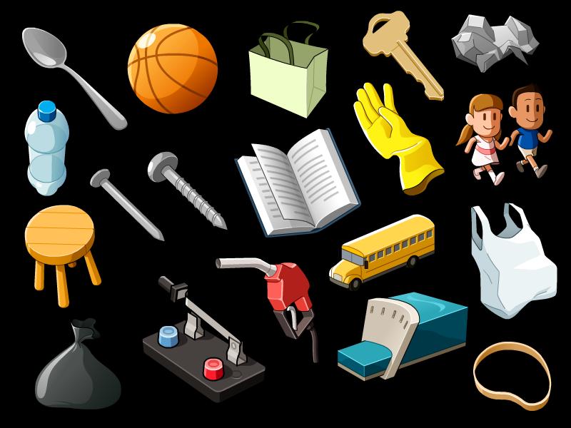 random objects 01 by mathieu beaulieu dribbble dribbble