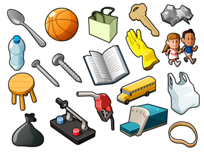 Random Objects 01 By Mathieu Beaulieu Dribbble
