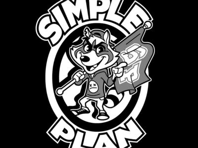 Simple Plan - Raccoon Design (crest 02)