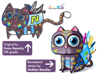 Netmath Character Design Contest