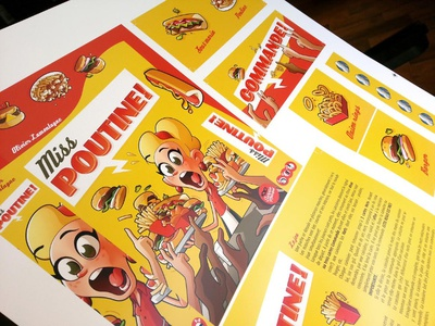 Miss Poutine - Packaging Preview