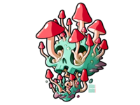 Shrooming Skull