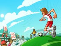 Planète soccer: Tome 1 - Cover illustration