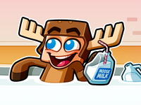 Youtube Channel Banner: MooseCraft
