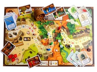 Board Game: Pony Express (Playfield)
