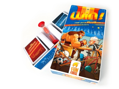 Board Game: Win! cartoon illustraion character print packaging cover cover art win gaming game board game