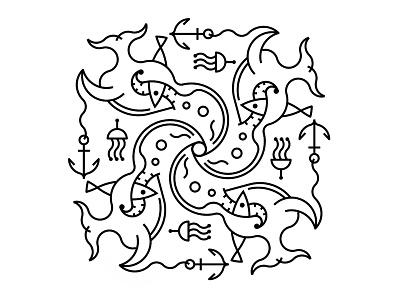 4 ornamental sea