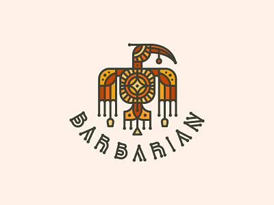 BARBARIAN glass drunk barfly barbarian bird bar