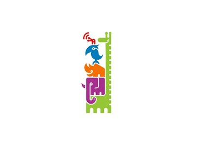 Standbystand.com parrot moskow girafe elephant rhinoceros insect constructions logo vertical