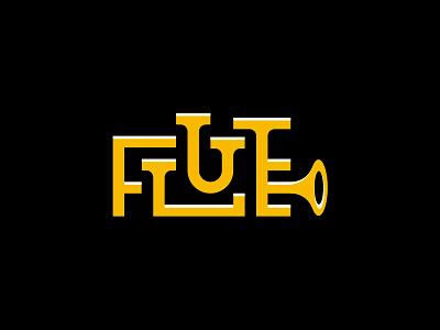 flute flute logo music