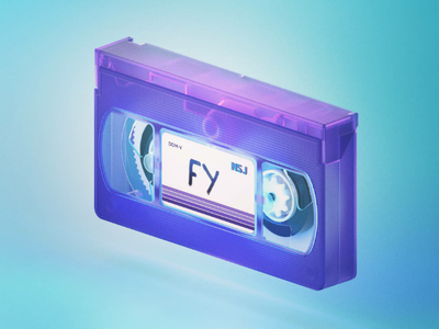 RETRO VHS cinema4d isometric tape retro 3d model 3d