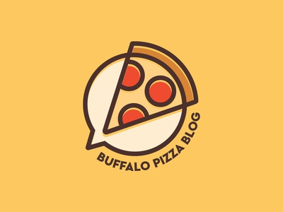 Logo Design: Buffalo Pizza Blog