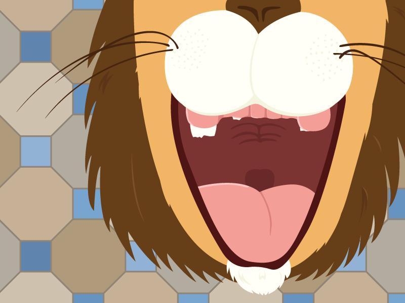 The Lion in Love illustration 한국어 aesops fables the lion in love lion love 이솝 이솝 이야기 사자 사랑 사랑에 빠진 사자