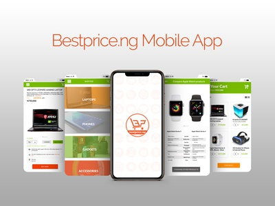 Mobile App Design for an online retail store