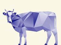 Geometric cow