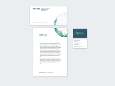 Branded Stationery concept (declined)