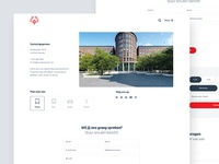 Clean Contact Page