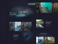 Bali Page Design