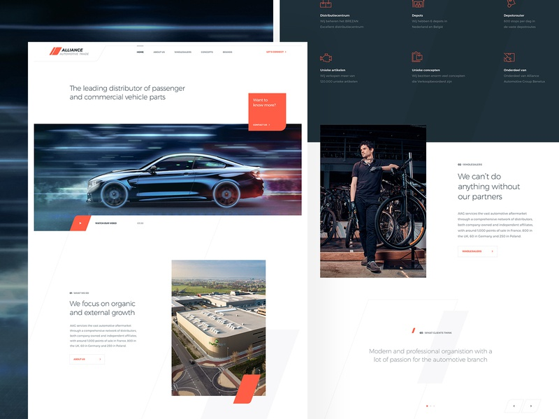 Automotive Design sharp modern homepage design homepage vehicles lines draft design clean ui fresh fast wheels cars speed automotive