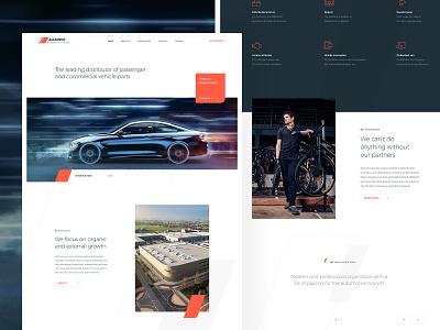 Automotive Design sharp modern homepage design homepage vehicles lines draft design clean ui fresh fast wheels cars speed automotive