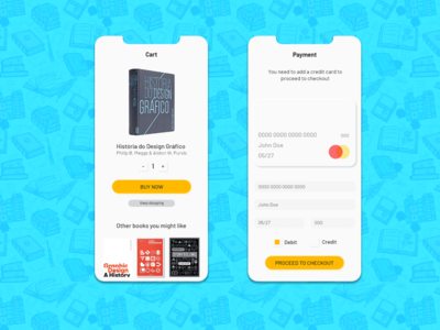 #002 - Credit Card Checkout - Daily UI