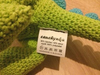Tex Label for Cauchynka Toys