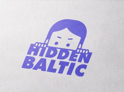 Hidden Baltic exploration esports vector logo branding minimal design