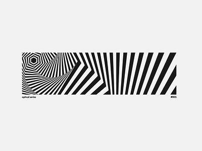 optical 005 optical art optical illusion vector cover art poster art wallpaper design minimal illustration design