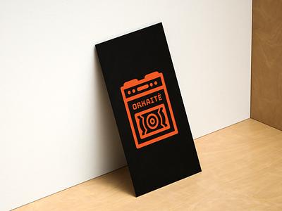 Orkaitė icon logo branding vector minimal illustration design
